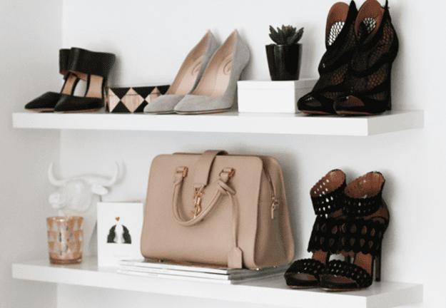 Exposez votre sac préféré avec vos chaussures