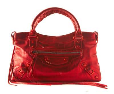 Sac Balenciaga Metallic First, 825 $ via Leprix