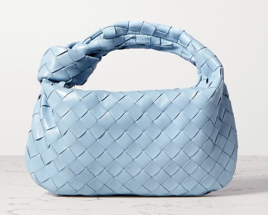 Bottega Veneta Jodie en bleu