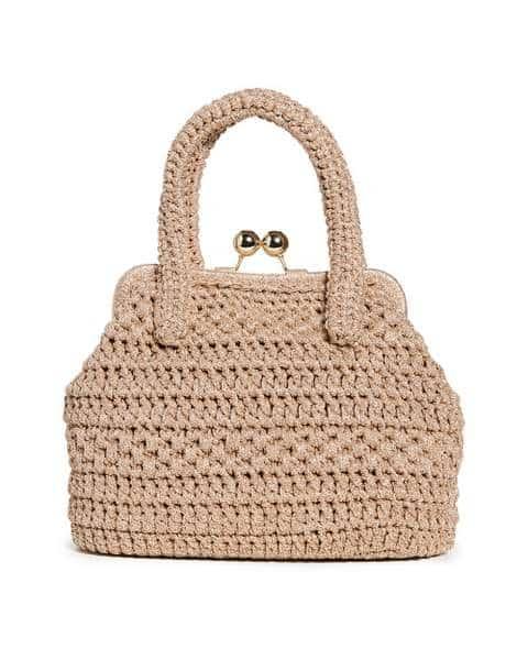 Sac en paille Caterina Bertini Lady Bag