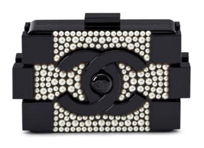 Chanel Boy Brick Pearl Clutch, 16 000 $ via Christie's