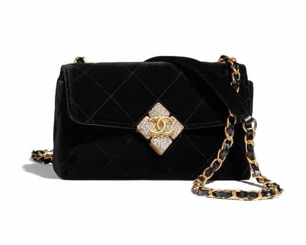 Chanel Crystal Mini sac à rabat