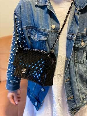 Avis sac Chanel à Rabat étiquette secrète