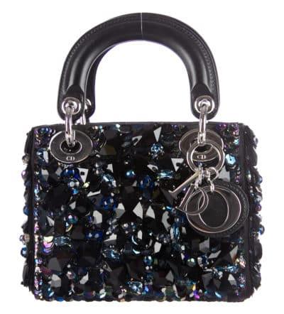 Mini sac Christian Dior Lady Dior, 4 950 $ via The RealReal
