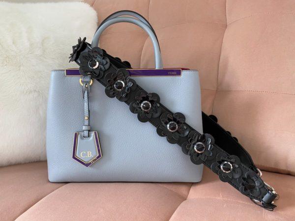 Sac à main : Le petit sac en cuir Fendi 2Jours