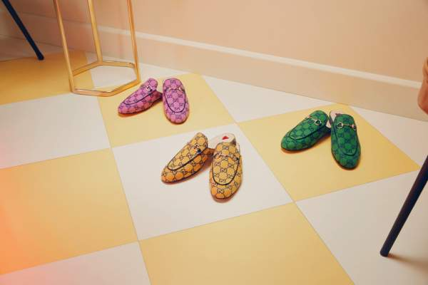Chaussures Gucci GG MULTICOLOR
