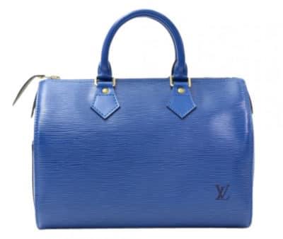 Louis Vuitton Epi Speedy Bag, 660 $ via Portero
