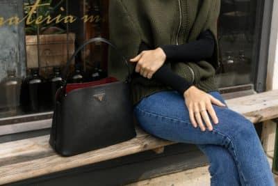 Petit sac à Main Matinée Prada en Noir