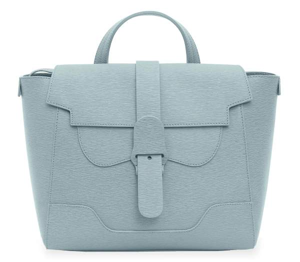 Senreve Handbag revival Midi Maestra Light Blue