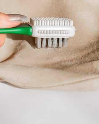 Nettoyage de la doublure du sac