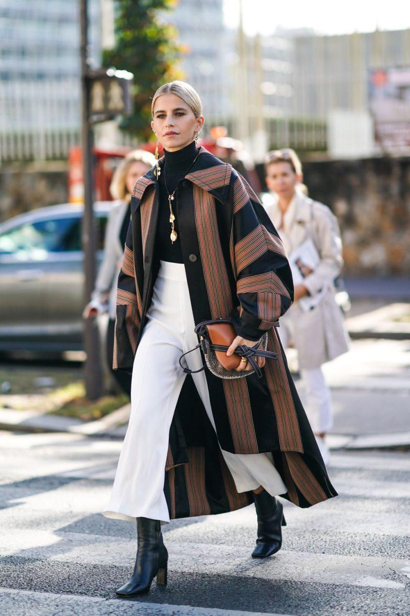 street style paris fashion week vêtements féminins printemps été 2020