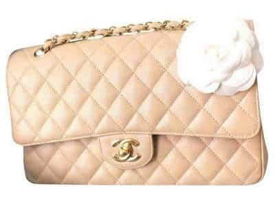Chanel Classic Flap beige