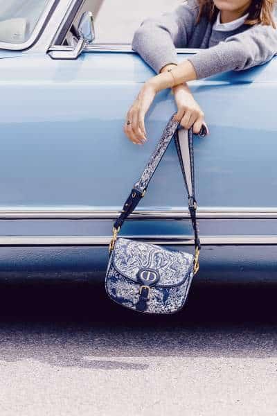 Sac Bobby Dior bleu