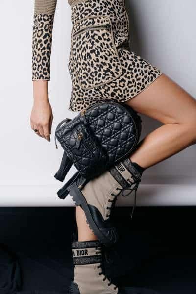 collection Dior Mizza Leopard Print