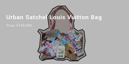 Sacs à main les plus chers - Urban Satchel Bag Louis Vuitton