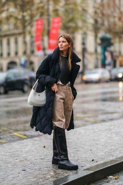 sac à main tendance pour séance photo de mode à paris décembre 2020