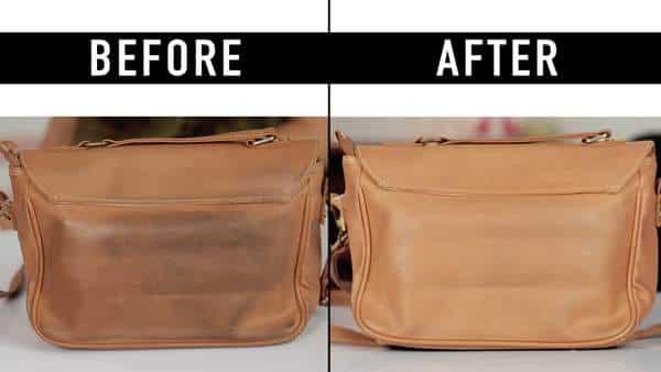 Comment nettoyer un sac à main en cuir clair