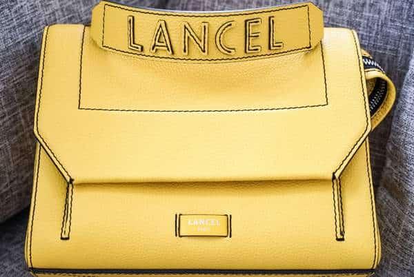 Sac à main Ninon de Lancel en jaune