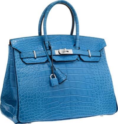 Hermès 35cm Special Order Matte Alligator Birkin, enchères à partir de 25 000 $ via Heritage Auctions