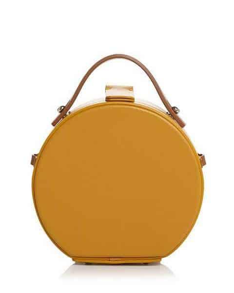 Nico Giani Frera Mini sac en cuir mat à bandoulière