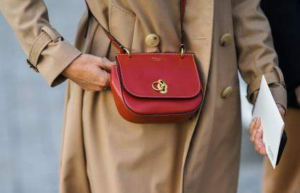 Sac Mulberry rouge