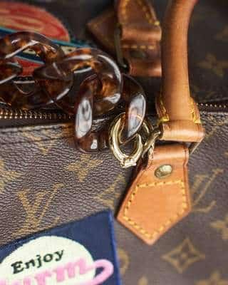 Transformation du sac Speedy de Louis Vuitton