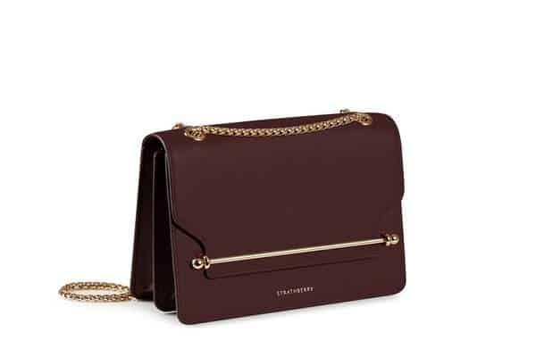 sac design en cuir Strathberry