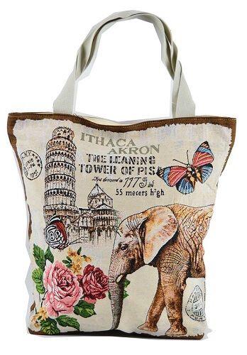 Le tote bag est le nom d'une forme de sac à main fourre tout