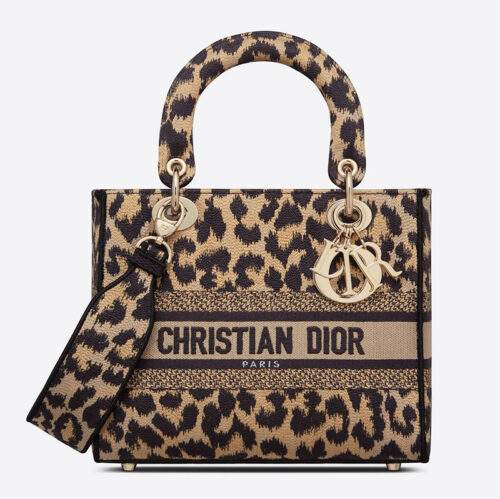 Tote Bag Dior collection leopard