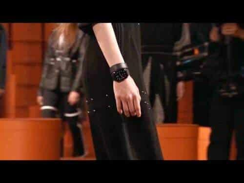 L'Apple Watch Hermès figurait en bonne place dans le défié